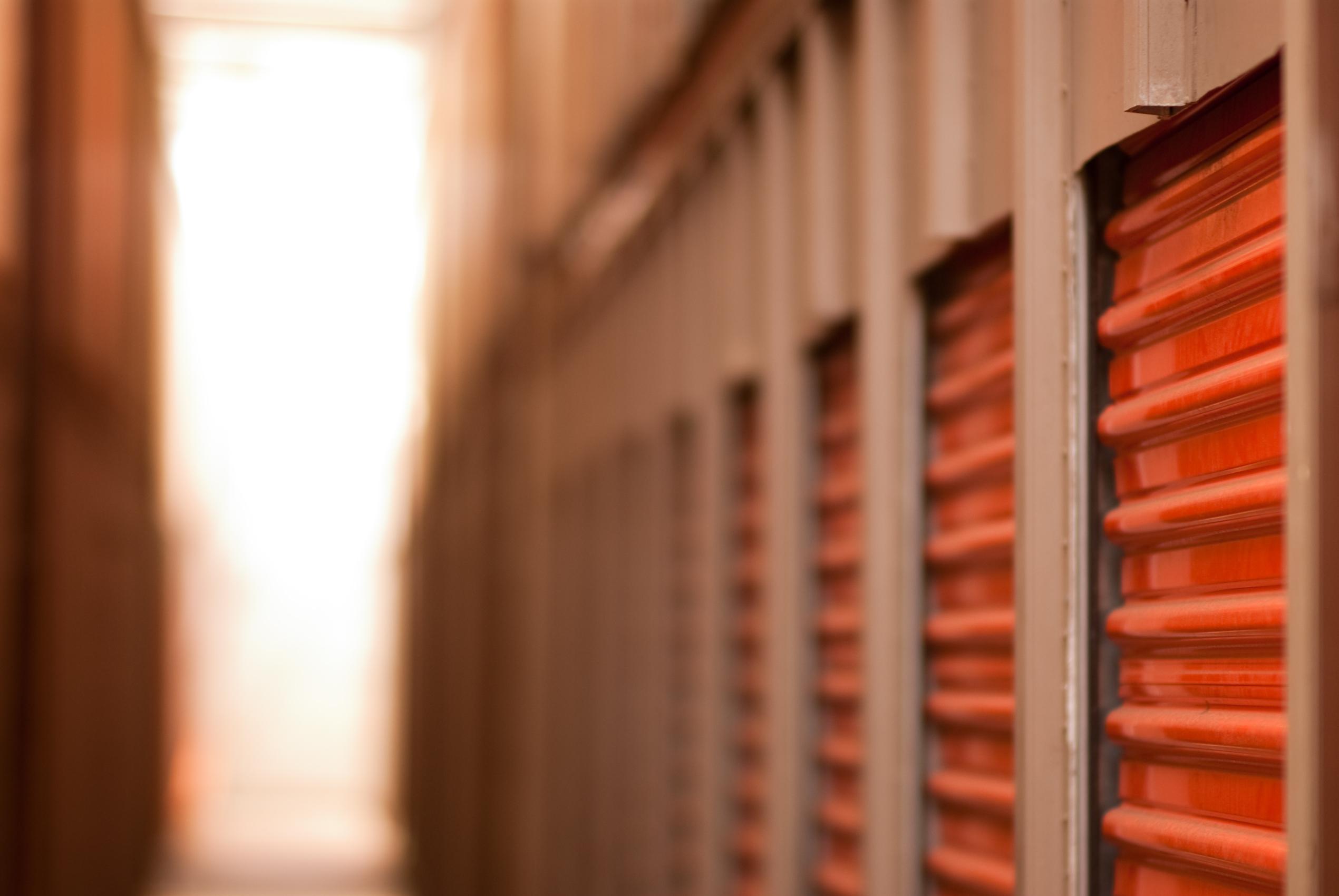 storage unit organization ideas