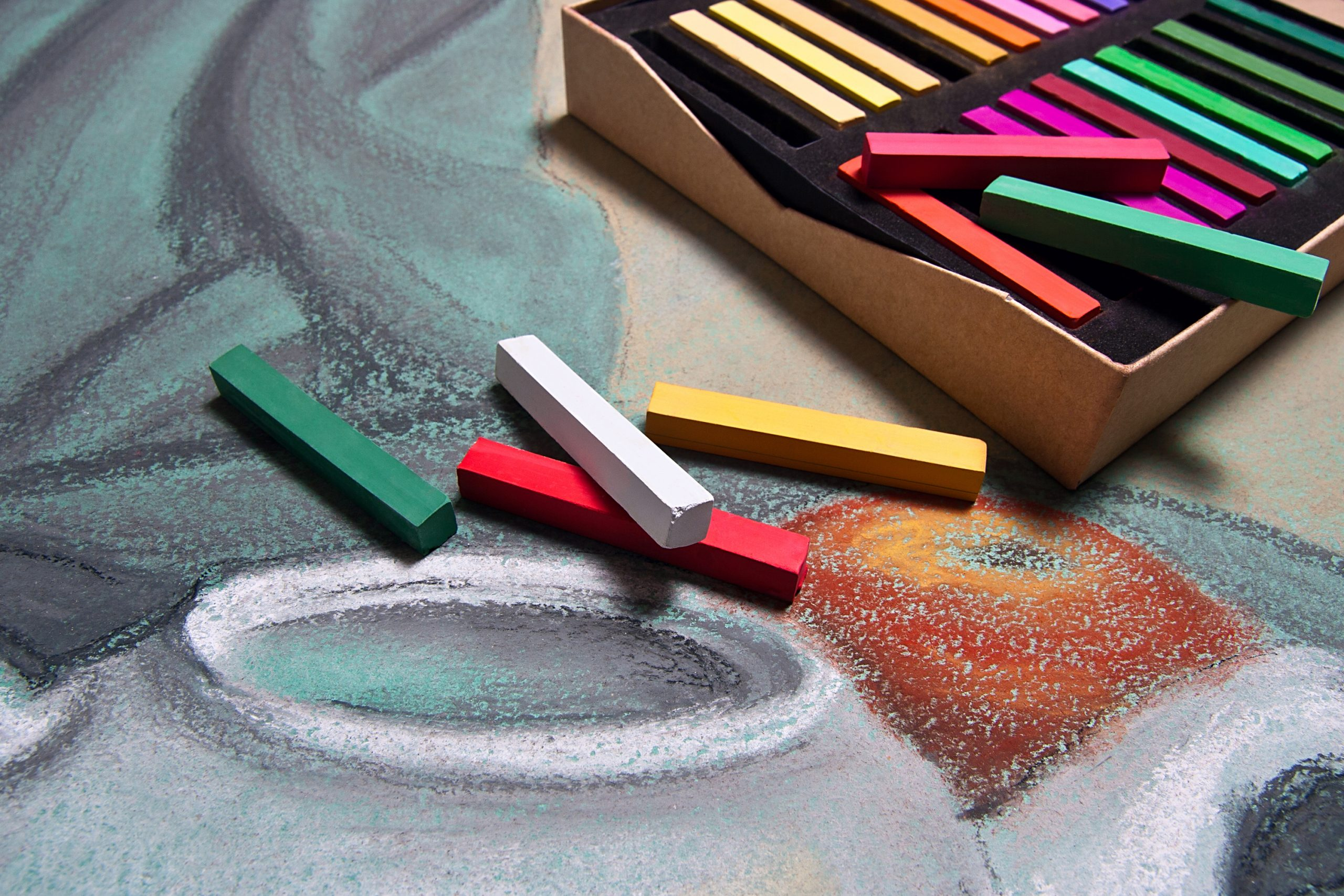 how to store pastel drawings