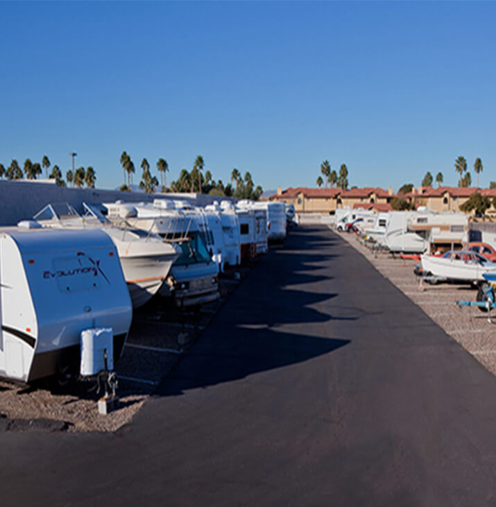 Bell Road boat and RV parking