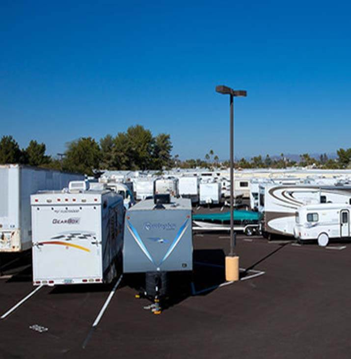 Sun City boat and rv parking