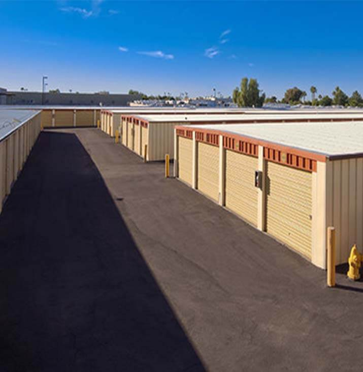 Storage Units In Sun City Az At 18900 N 107th Ave