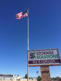 Sun City Storage Solutions American Flag