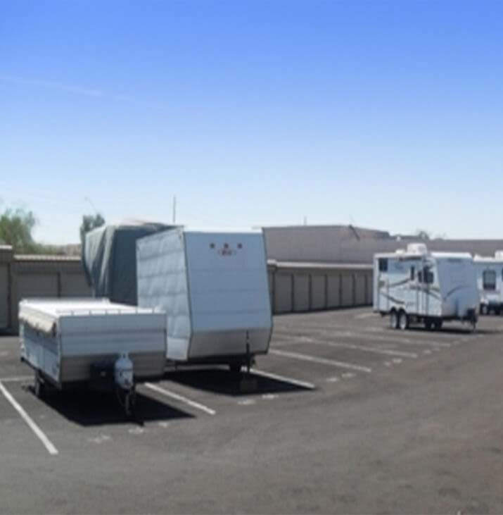 Adobe Storage rv and boat parking